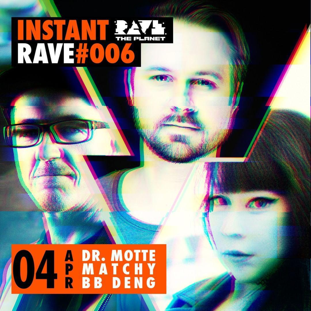 Dr Motte At Instant Rave 006 Livestream For Rave The Planet Dr Motte S Blog