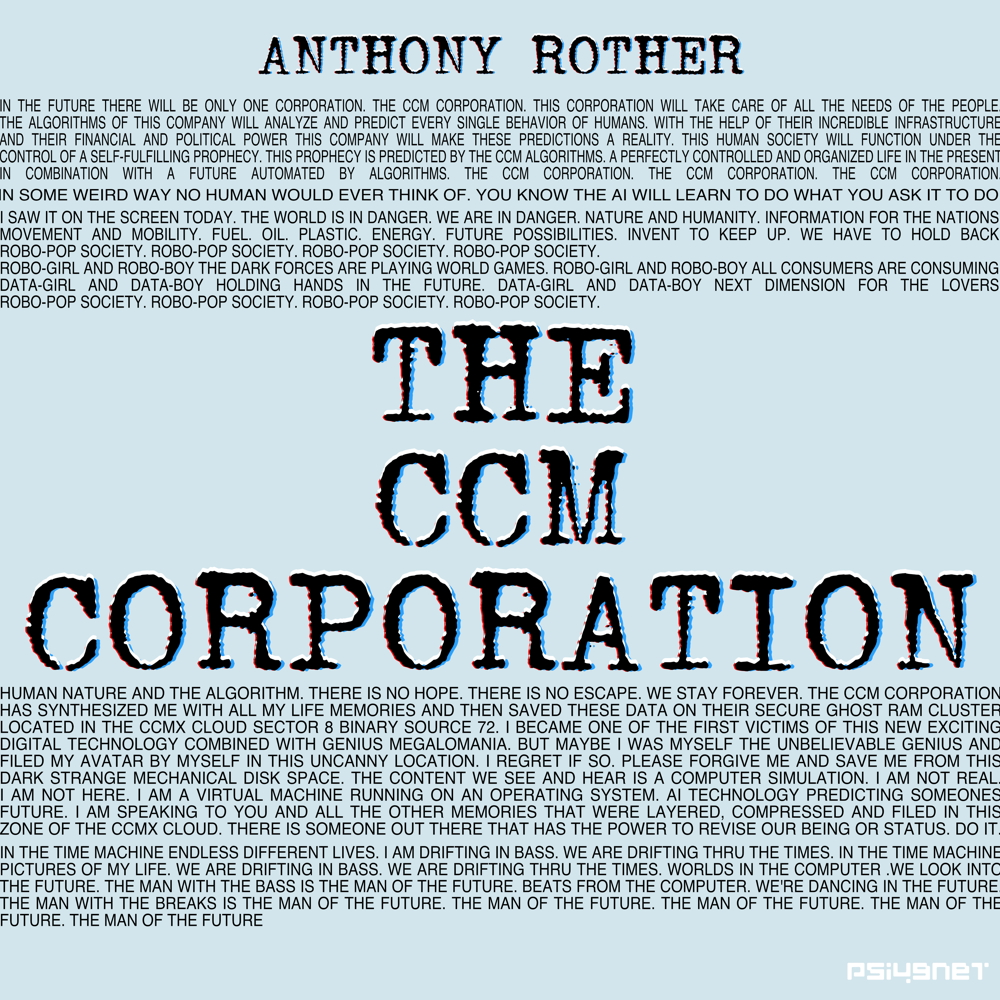 THE CCM CORPORATION on bandcamp