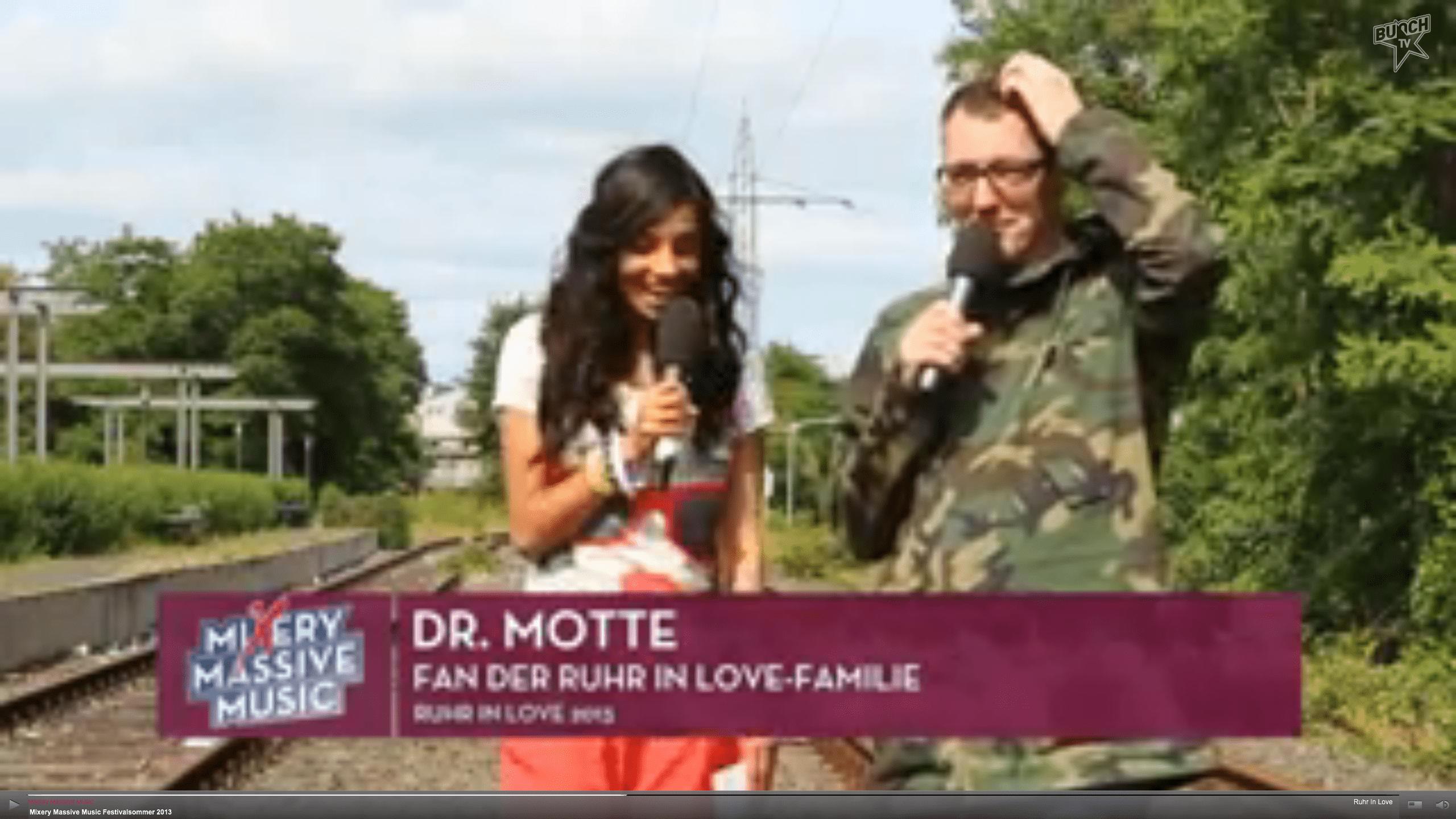 Dr. Motte @ Mixery Massive Music Festivalsummer 2013