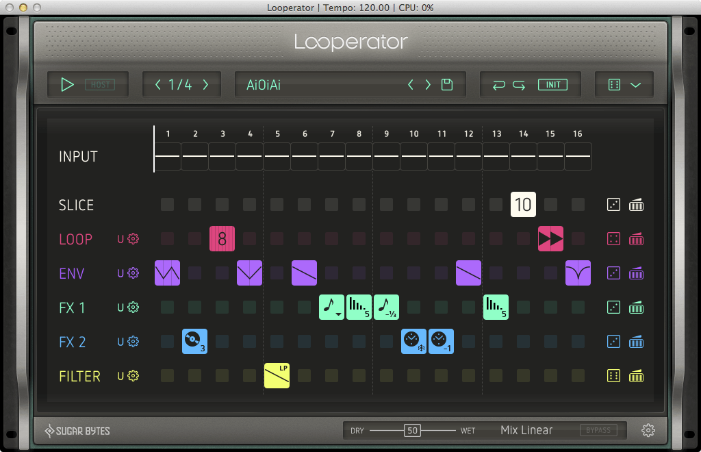 New: Looperator by Sugar Bytes