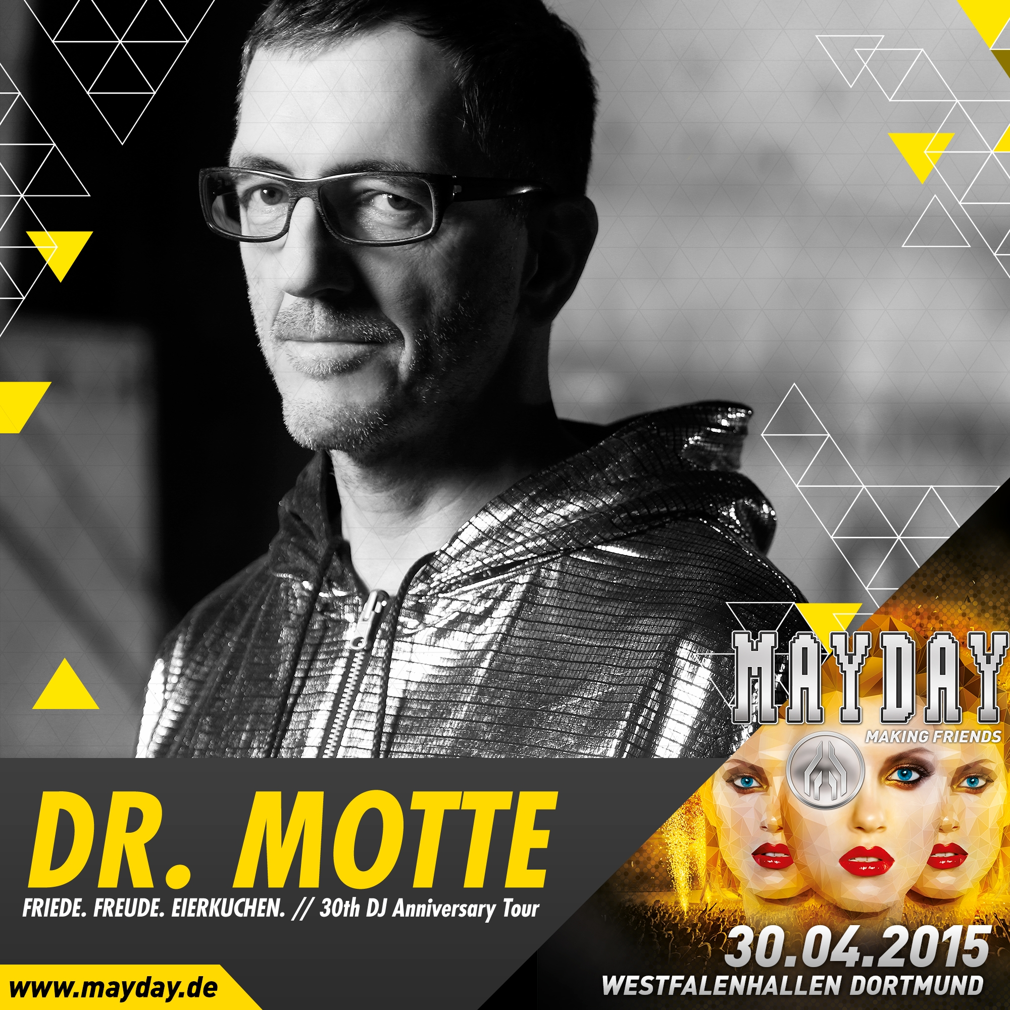 Dr. Mottes Vinyl Only DJ Set From MAYDAY 2015