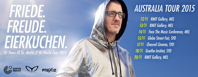 Goethe-Institut Australia presents: DR. MOTTE – Australia Tour 2015