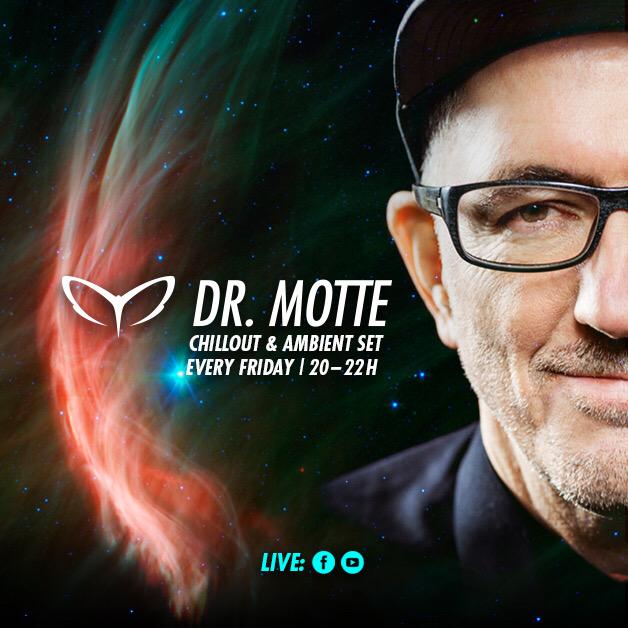 LIVESTREAM: Dr. Motte's Chillout & Ambient Set 04/10/20